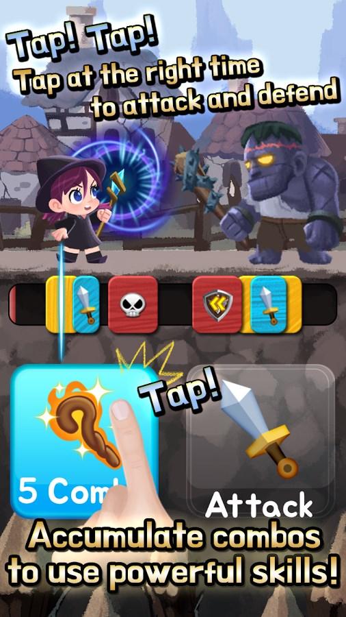 Combo Heroes: Blade Master Age - Imagem 1 do software