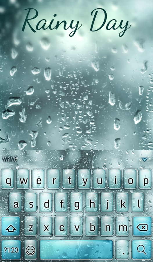 Rainy Day Animated Keyboard - Imagem 1 do software