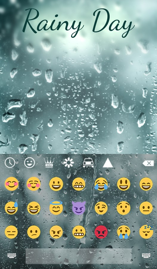 Rainy Day Animated Keyboard - Imagem 2 do software