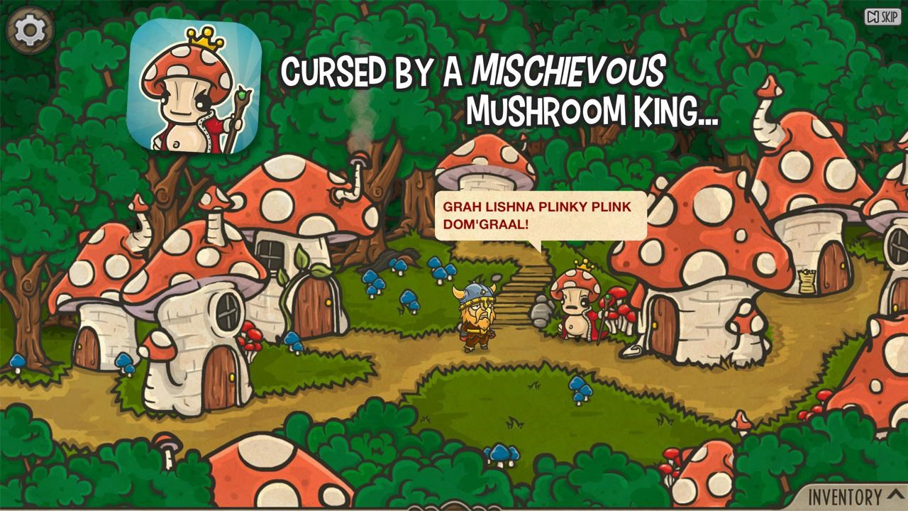 The Curse of Mushroom King - Imagem 1 do software