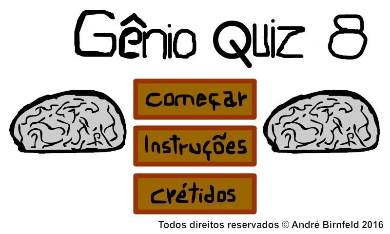 Gênio Quiz 8 Web - Imagem 1 do software