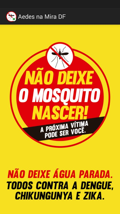Aedes na Mira DF - Imagem 1 do software