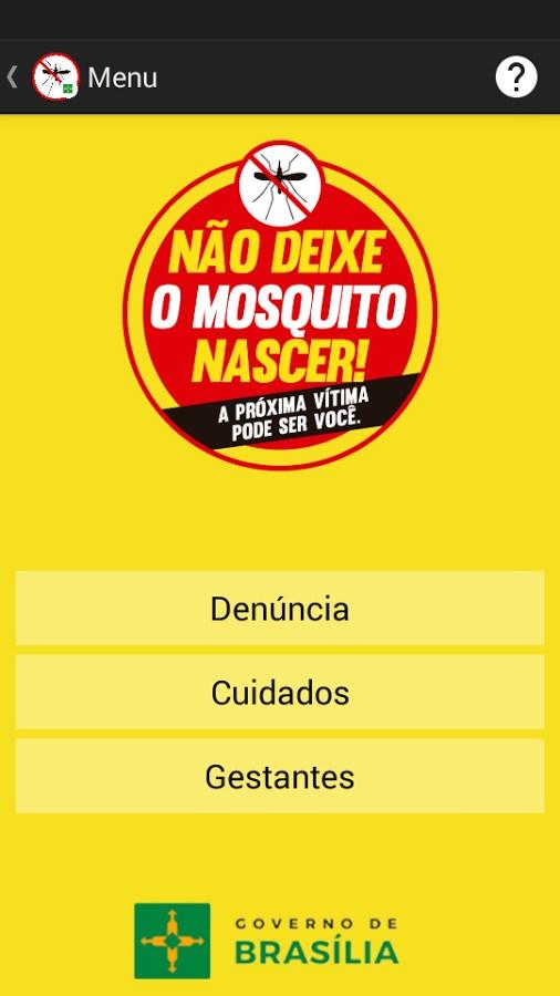 Aedes na Mira DF - Imagem 2 do software