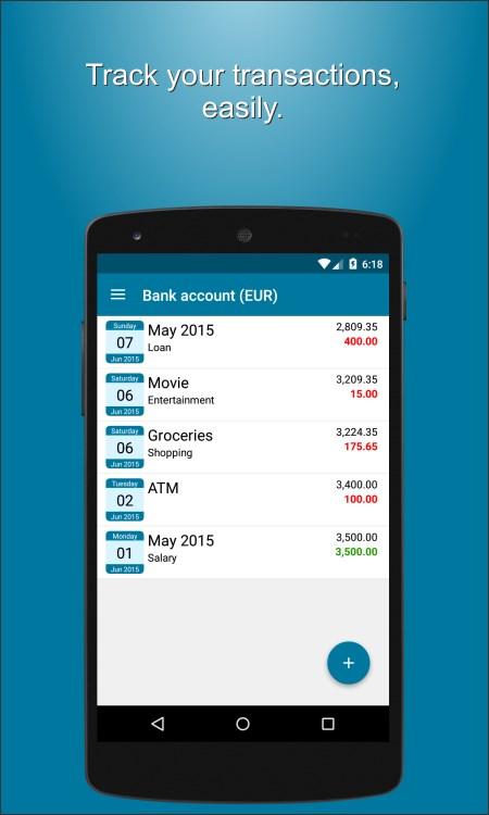 Finman - The Money Manager - Imagem 2 do software