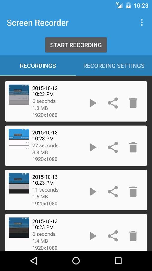 Lollipop Screen Recorder - Imagem 1 do software