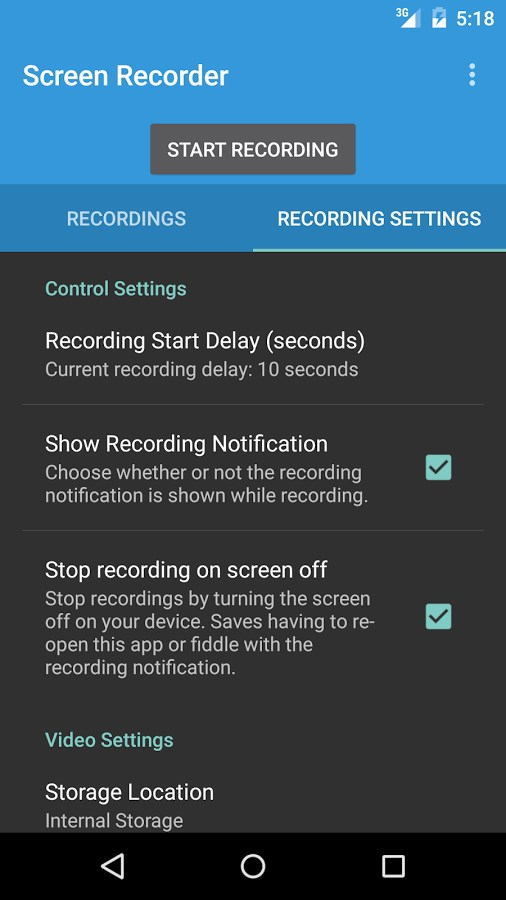 Lollipop Screen Recorder - Imagem 2 do software