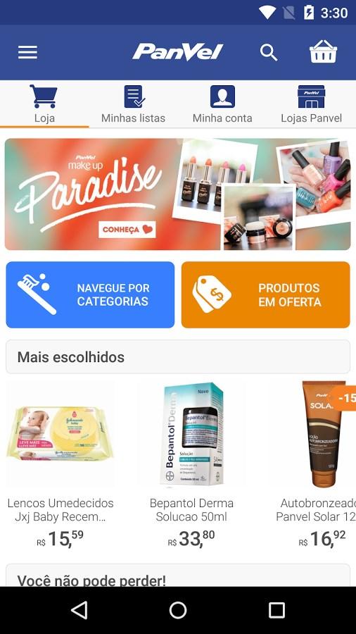 Panvel Farmácia e Perfumaria - Imagem 1 do software