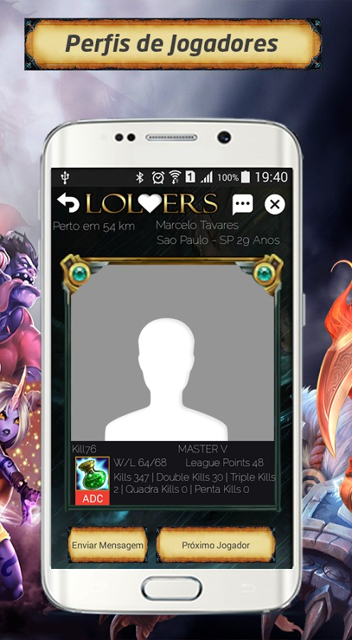 LoLvers for LoL BR - Imagem 1 do software