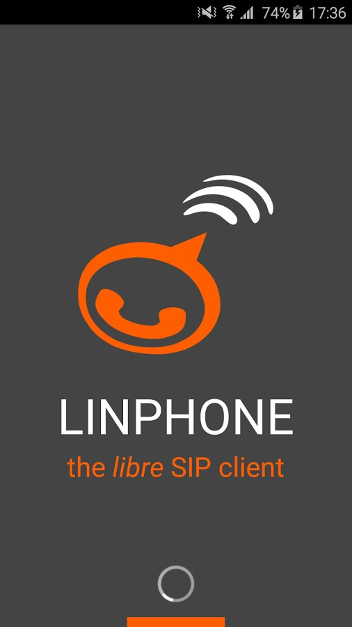 Linphone - Imagem 1 do software