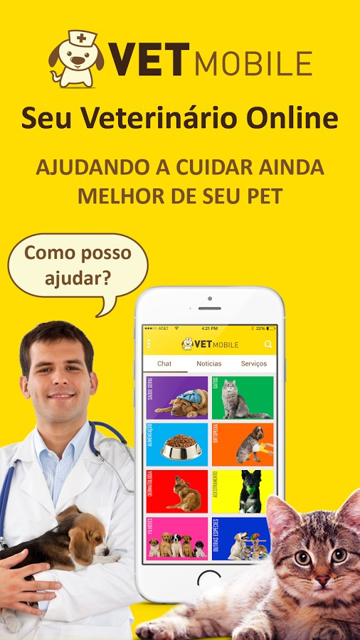 VET Mobile Veterinário Online - Imagem 1 do software