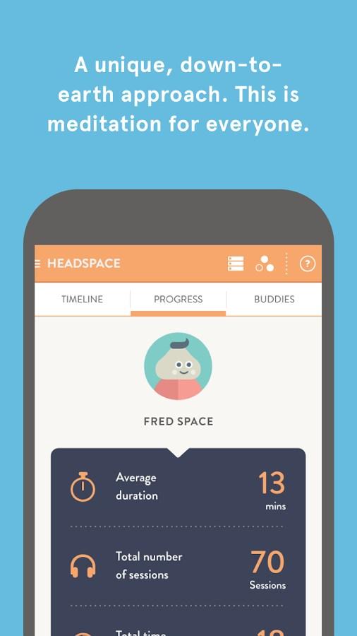Headspace - Imagem 2 do software