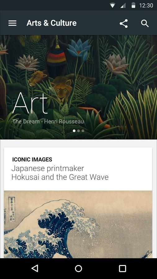 Google Arts & Culture - Imagem 1 do software