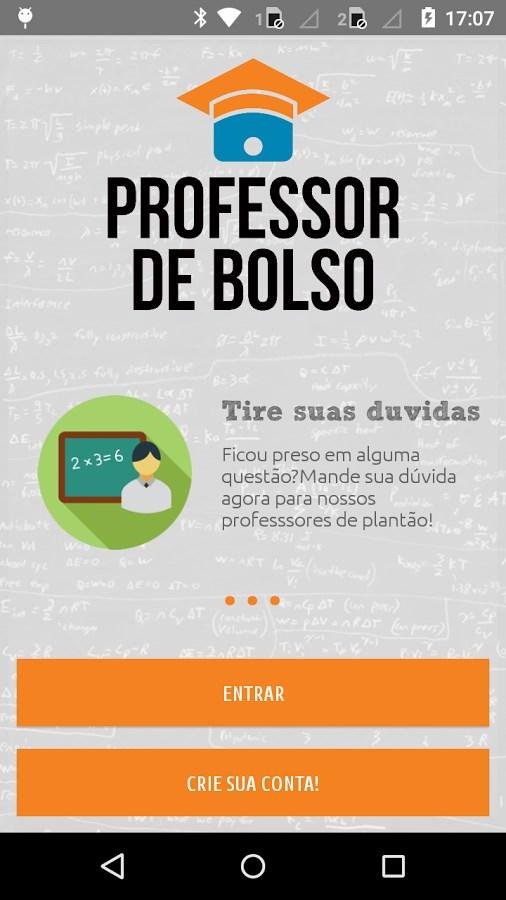 Professor de Bolso - Imagem 1 do software