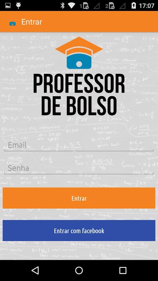 Professor de Bolso - Imagem 2 do software