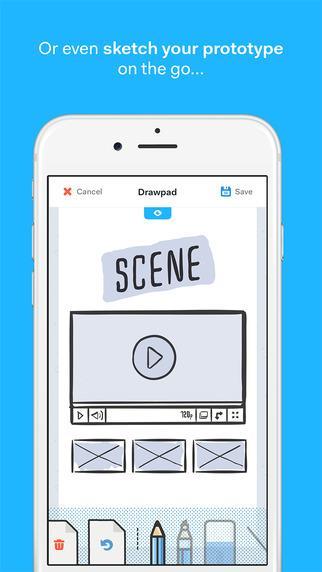 Marvel- Design de aplicações no seu telefone - Imagem 2 do software
