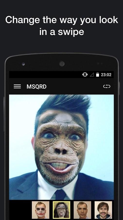 MSQRD - Imagem 1 do software