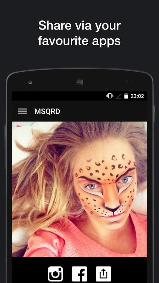 MSQRD - Imagem 2 do software
