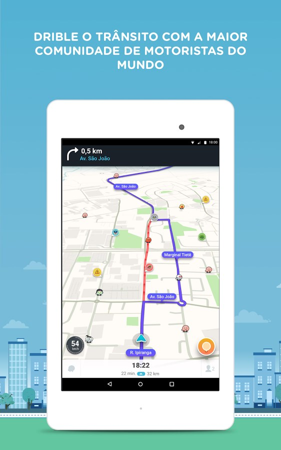how to download offline maps on waze