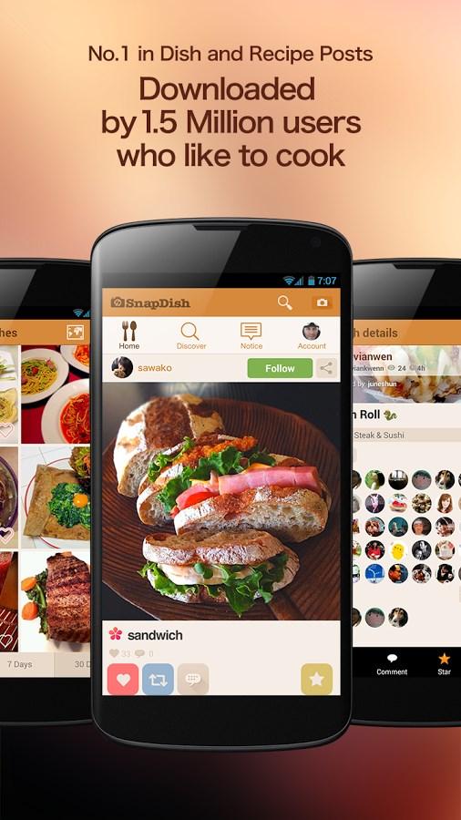 SnapDish Food Camera - Imagem 1 do software