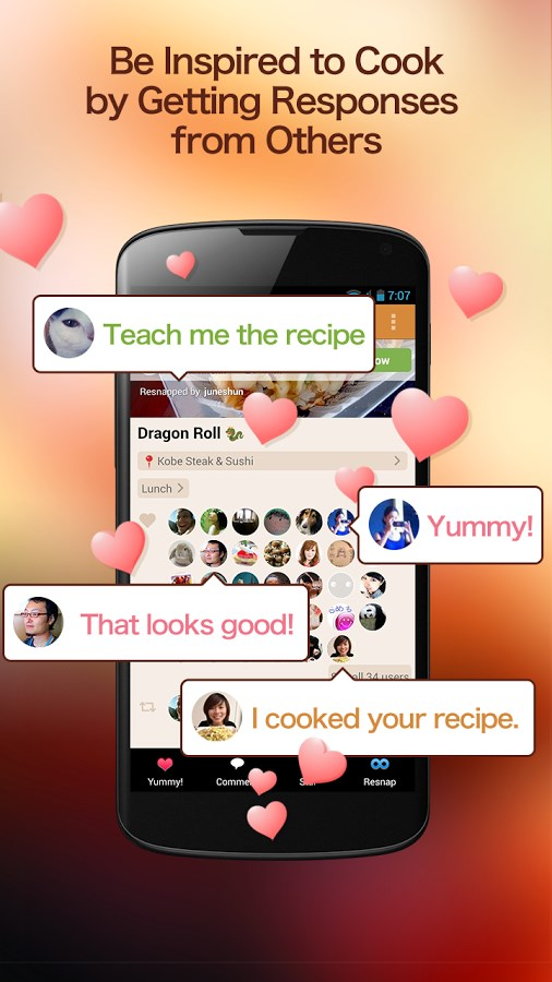 SnapDish Food Camera - Imagem 3 do software