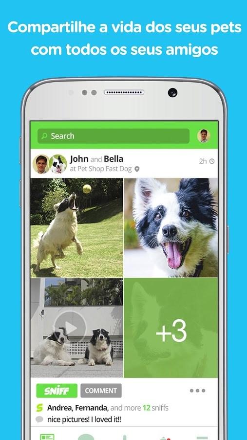 Sniff Pet Social Network - Imagem 1 do software