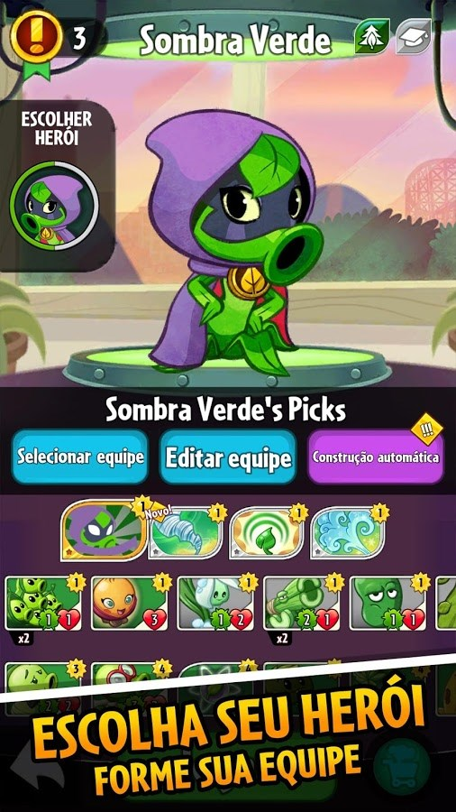 Plants vs. Zombies Heroes - Imagem 2 do software