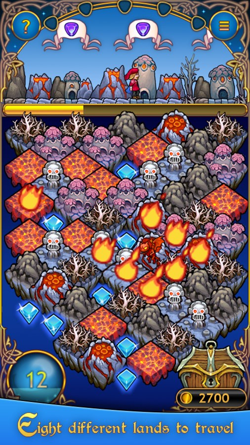 Jewel Road - Fantasy Match 3 - Imagem 2 do software
