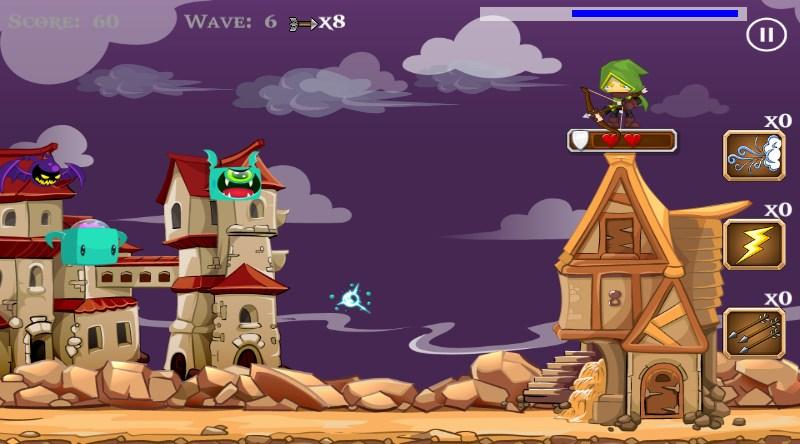 Archer vs Monster Bats - Imagem 1 do software