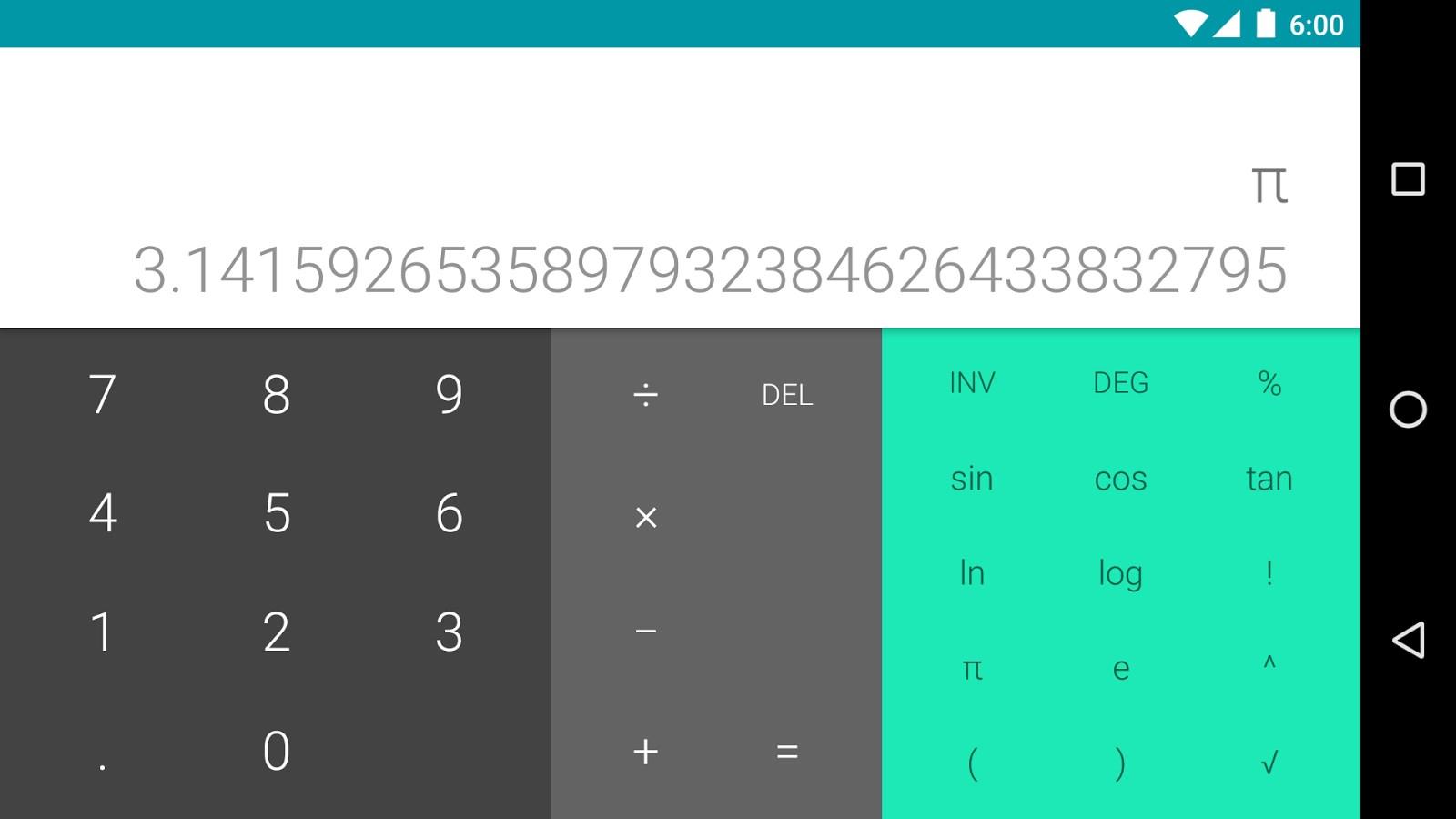 Calculadora - Imagem 1 do software