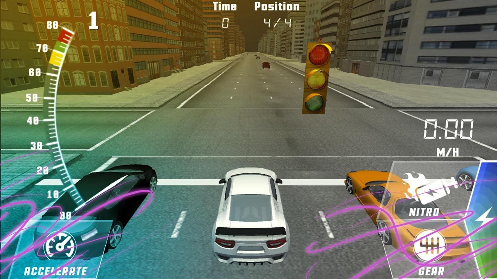 Drag Race : Top Speed Car 3D - Imagem 1 do software
