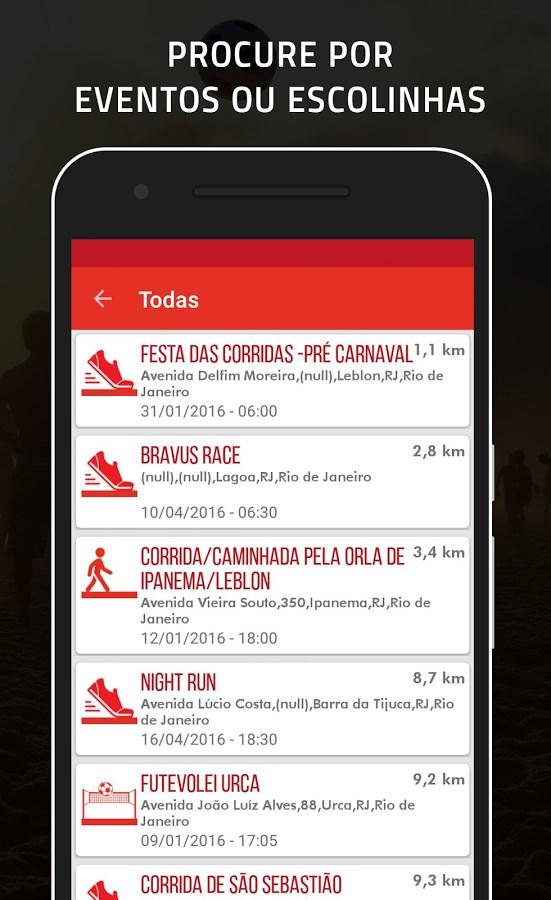 Want2Play – Esportes em grupo - Imagem 2 do software