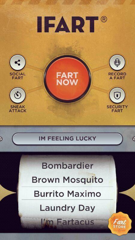 iFart® Fart Sounds App - Imagem 1 do software