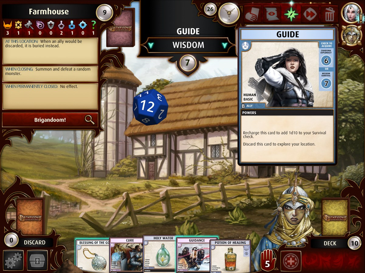 Pathfinder Adventures - Imagem 1 do software
