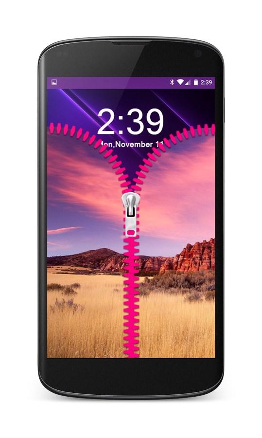 Zipper Lock Screen - Imagem 1 do software