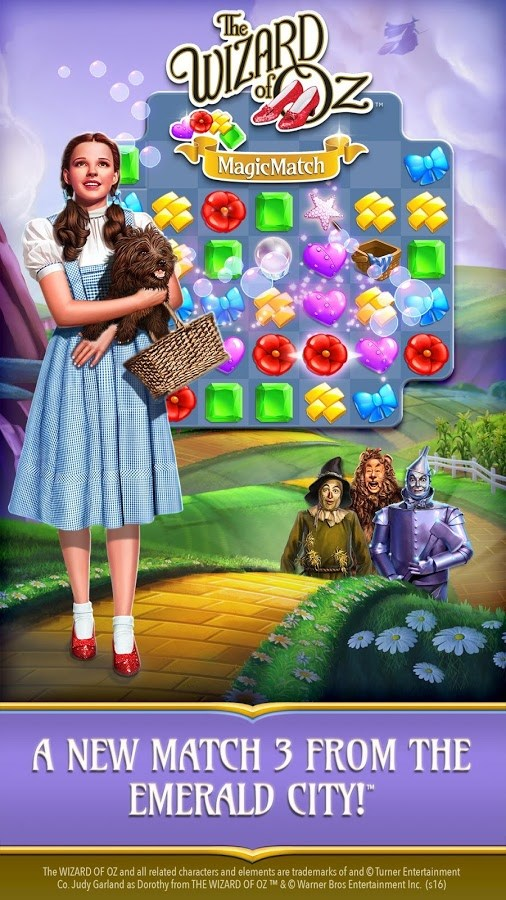 Wizard of Oz: Magic Match - Imagem 1 do software