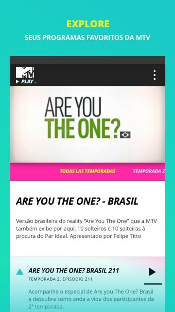 MTV Play - Imagem 2 do software