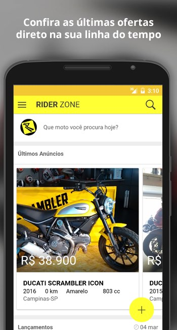 RiderZone - Imagem 1 do software