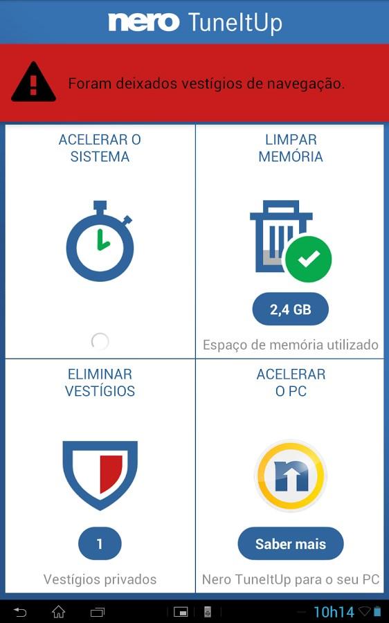 Nero TuneItUp - Imagem 1 do software