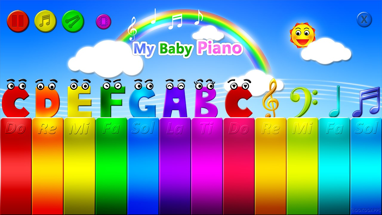 My baby piano free - Imagem 1 do software