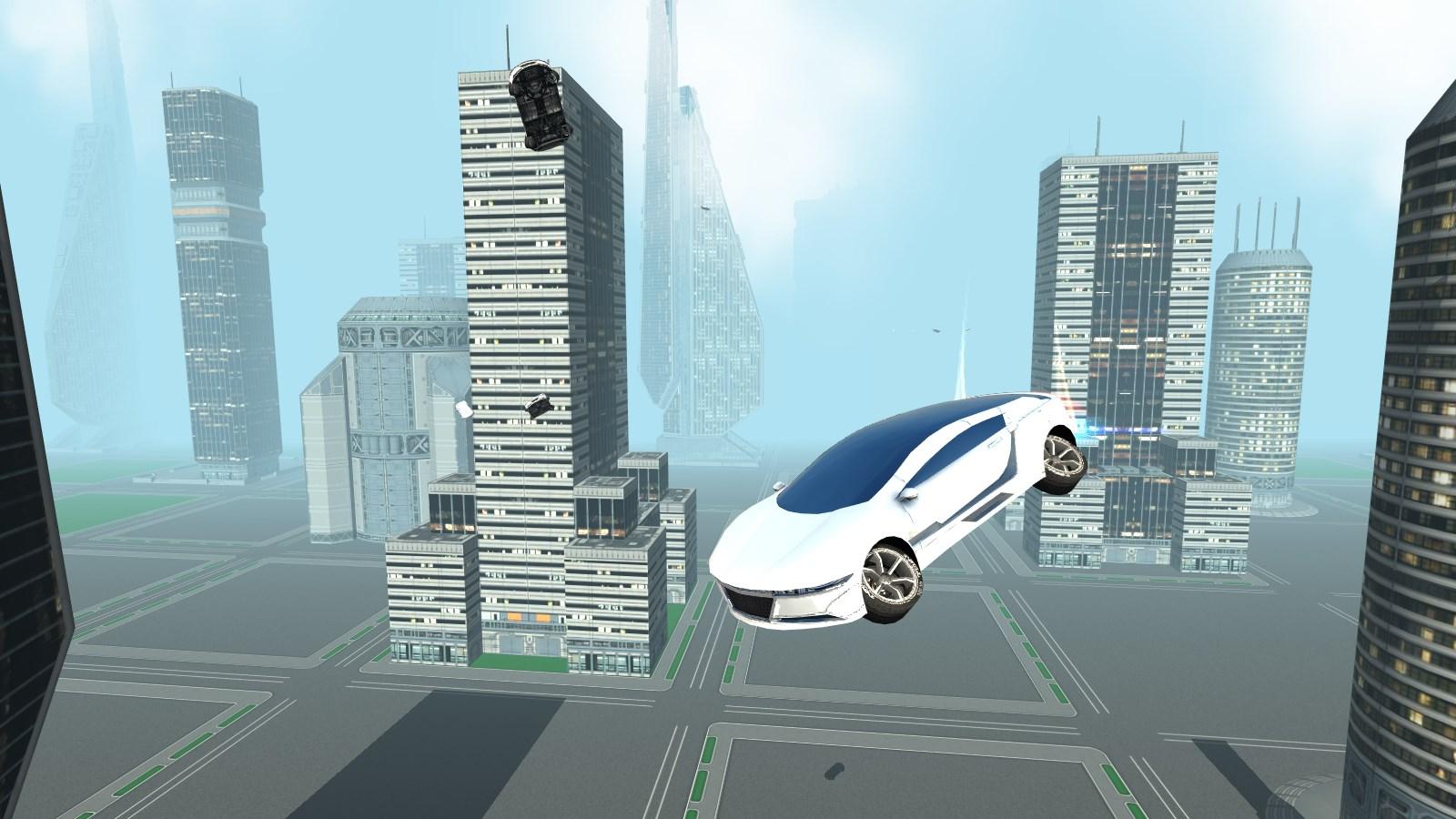Futuristic Flying Car Driving - Imagem 1 do software