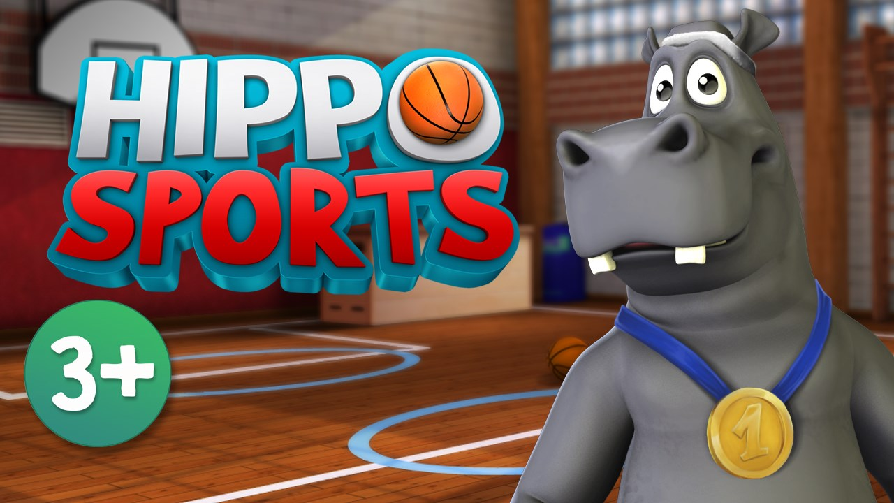 Hippo Sports: Train and play with your funny hippo friend - Imagem 1 do software