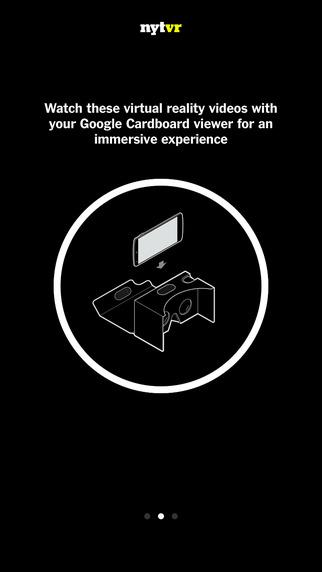 NYT VR - Virtual Reality Stories from the NYTimes - Imagem 2 do software