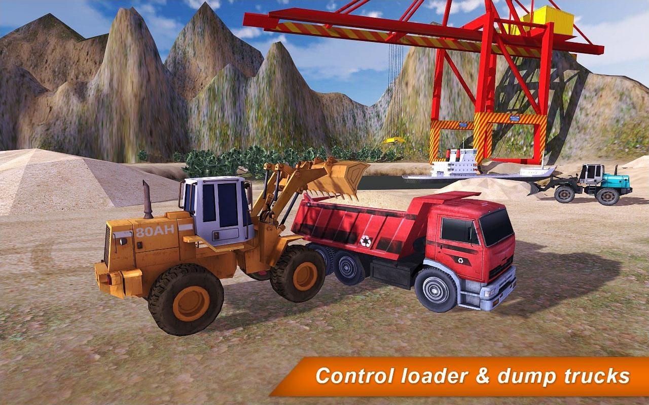 Loader & Dump Truck Hill SIM 2 - Imagem 1 do software