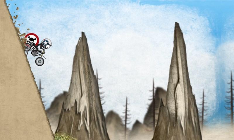Stickman Downhill Motocross - Imagem 1 do software