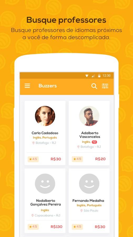 Buzzers - Aluno - Imagem 1 do software