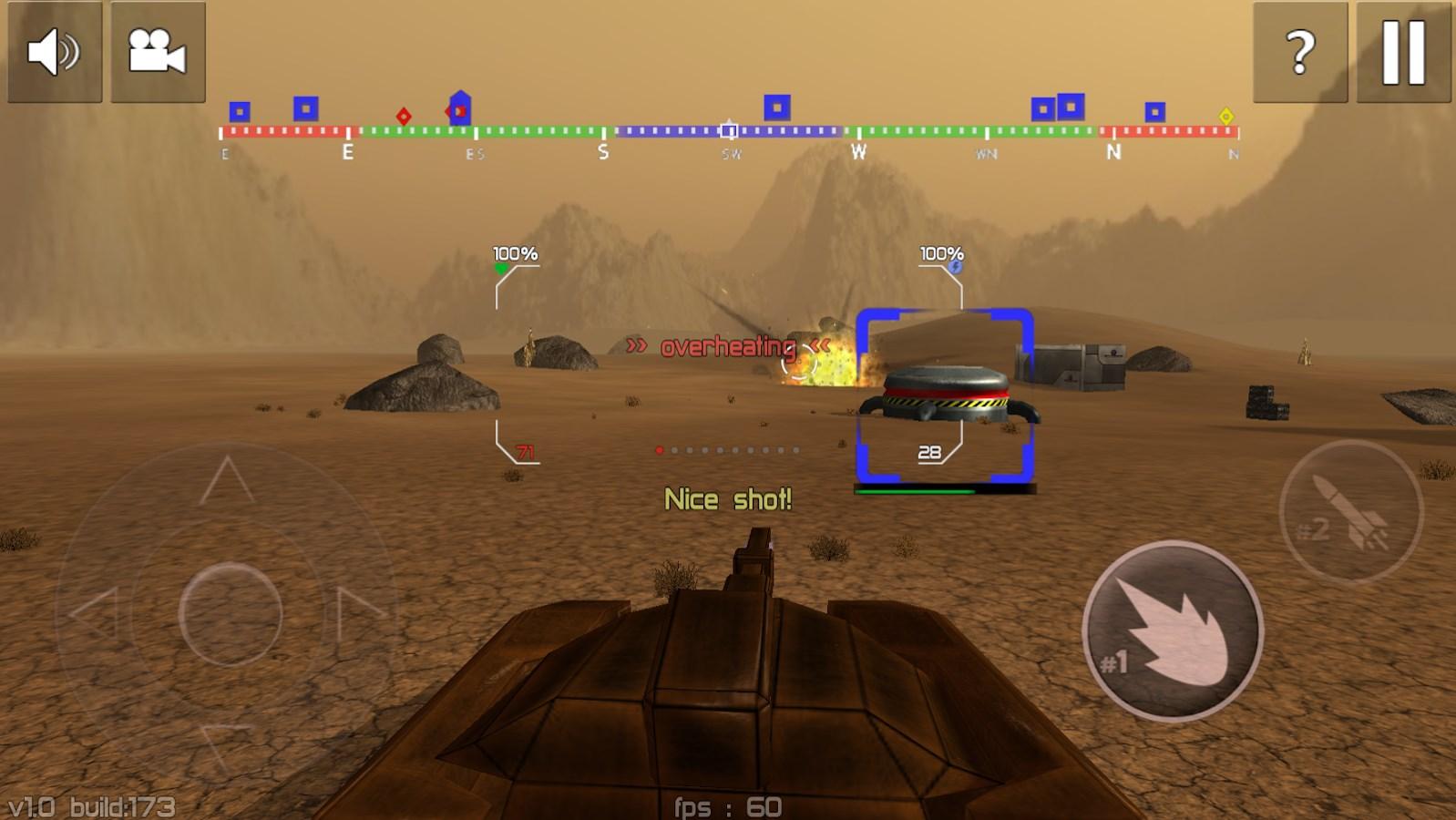 Tank Combat : Future Battles - Imagem 1 do software