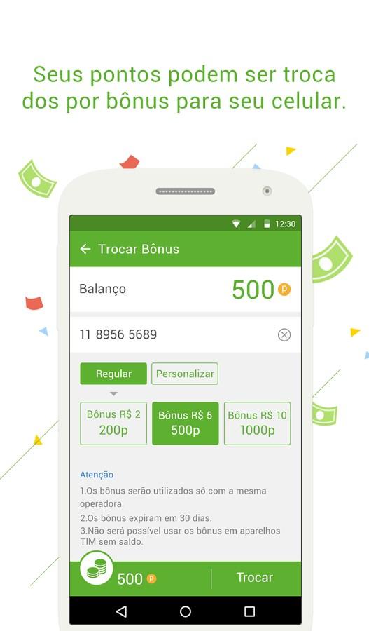 Mobonus - Ganhar bônus celular - Imagem 2 do software