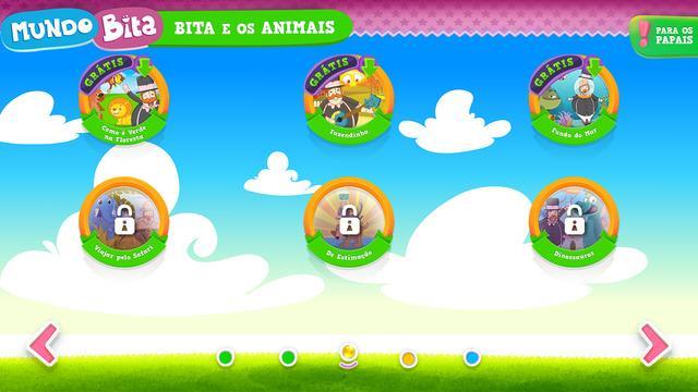 Mundo Bita para iPhone - Imagem 1 do software