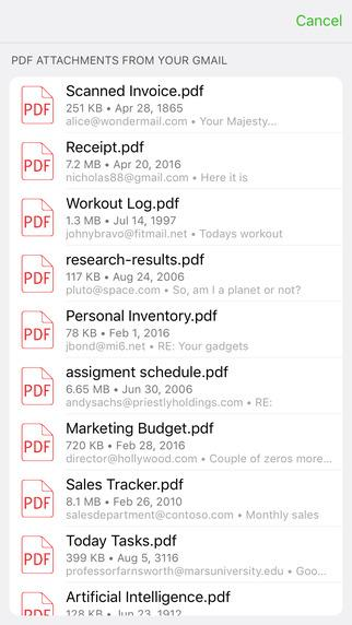 PDF to Excel - Imagem 2 do software