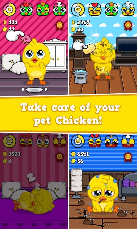 My Chicken - Virtual Pet Game - Imagem 2 do software